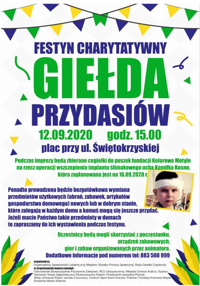 plakat Giełda Przydasiów