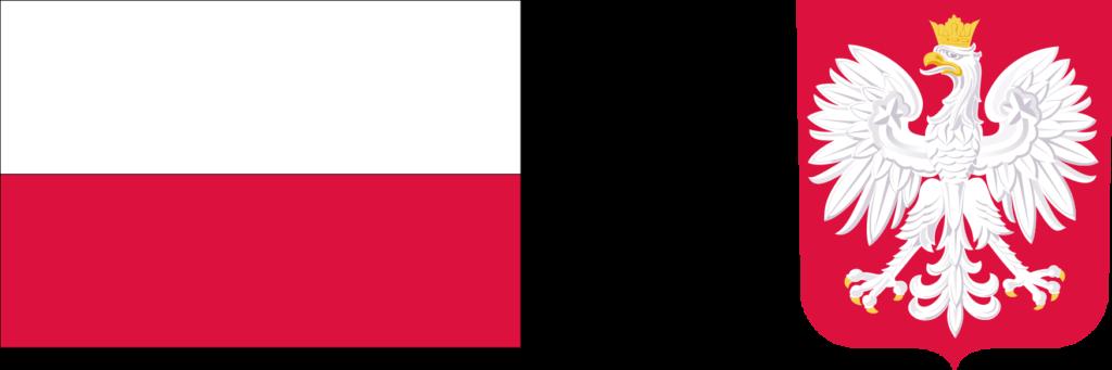 flaga i godło RP