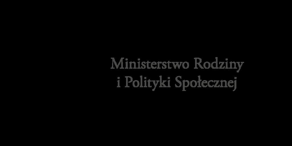 Logo Ministerstwa Rodziny i Polity Społecznej
