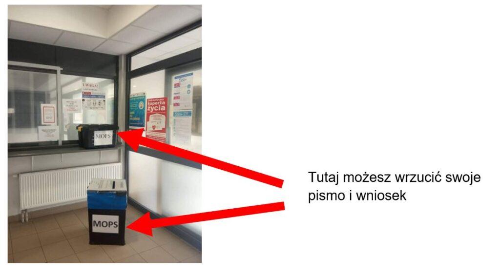 urny na pisma MOPS